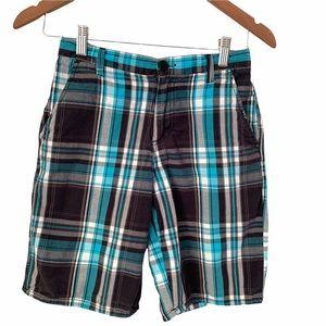 Ripzone Boys Plaid Shorts